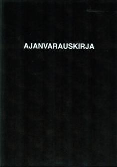 Ajanvarauskirja 100B (A4, 372 sivua 7.00-23.00)