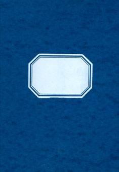 Tilikirja 474/4 (4 rahasaraketta, B4, 96 sivua, sininen kiiltopahvikansi)