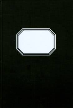 Konttorikirja (B5, ruutuviivainen 7x7, 288 sivua, mustakantinen)
