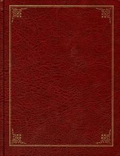 Vieraskirja (170x220 mm, tummanpunainen, 208 sivua)