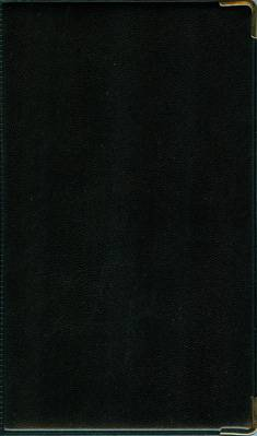 Puhelinmuistio (110x176, musta)