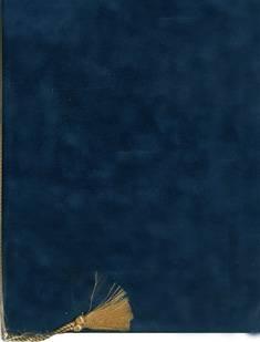Adressikansi (A4, sininen, 4 lehteä)