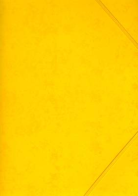 Kulmalukkosalkku A4, keltainen