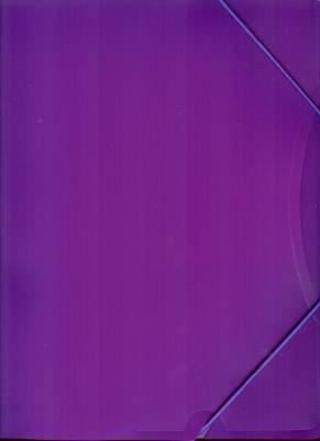 Kulmalukkosalkku A4 PP violetti