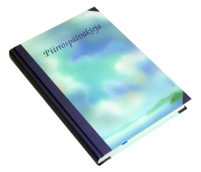 Piirrospäiväkirja Aalto (148 x 210 mm,366 sivua, päänauha)