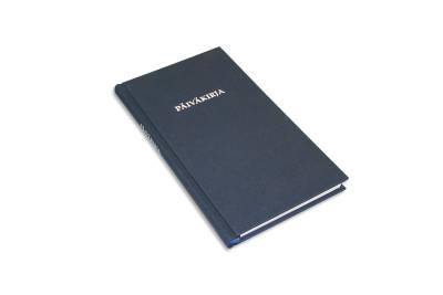 Päiväkirja (115x210 mm, 144 sivua, lukunauha)