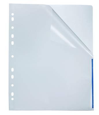 Signaalitasku A4 pp 10 kpl/pussi 0,12 mm sininen