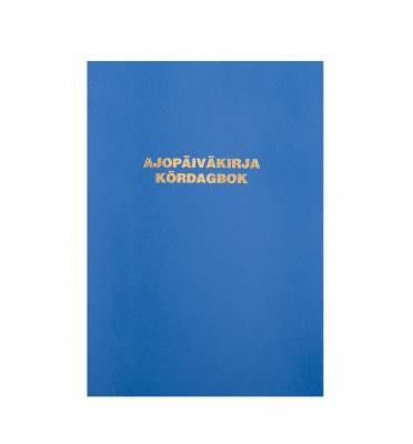 Ajopäiväkirja 187 (10 kpl/pkt, A5, 32 sivua, auton käyttöetu)