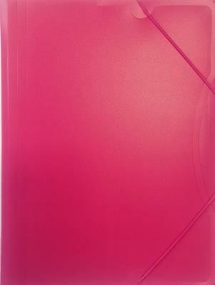 Kulmalukkosalkku A4 PP pinkki