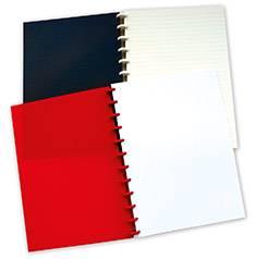 Muistivihko A4 punainen (9 mm viivat)