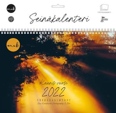 Anu Kovalainen Seinäkalenteri 2022, A4